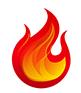 Logo nur Flamme KLEIN